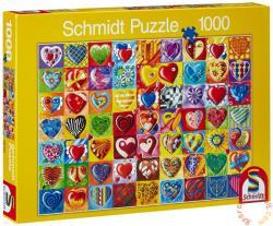 Schmidt Spiele Heart-throb 1000 db-os (58154)