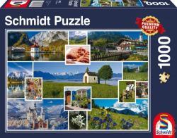 Schmidt Spiele A hegyekben 1000 db-os (58222)