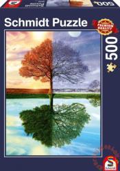 Schmidt Spiele Évszakok 500 db-os (58223)