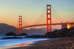 Schmidt Spiele Golden Gate Bridge, San Francisco 1000 db-os (58234)
