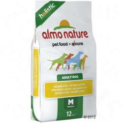 Almo Nature Adult Medium - Chicken & Rice 2x12kg