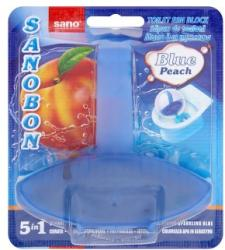 Sano Sanobon Blue 5in1 Peach WC-illatosító 55g