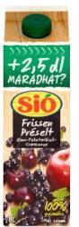 Sió Frissen préselt alma-feketeribizli-cseresznye gyümölcslé 1L