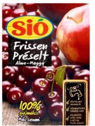 Sió Frissen préselt alma-meggy gyümölcslé 3L