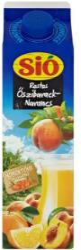 Sió Rostos őszibarack-narancs gyümölcsital homoktövissel 1L