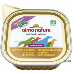 Almo Nature Bio Daily Menu - Beef & Vegetables 6x100g