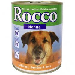 Rocco Menue - Lamb, Vegetables & Rice 6x800g