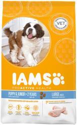 Iams Proactive Health Puppy & Junior Large Breed Chicken 12kg