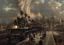 Schmidt Spiele Locomotive 1000 db-os (58206)