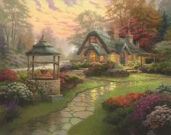 Schmidt Spiele Thomas Kinkade: Make a Wish Cottage 1000 db-os (58463)