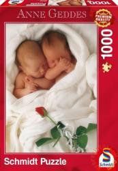 Schmidt Spiele Anne Geddes: Milly & Natalie 1000 db-os (59357)
