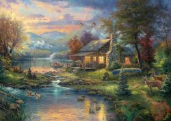 Schmidt Spiele Thomas Kinkade: Naturparadies 1000 db-os (59467)