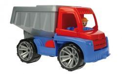 LENA Truxx - Camion basculanta din plastic cu figurina (LE04410)