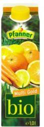 Pfanner Bio Multi Gold gyümölcsital 1L