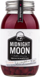 MIDNIGHT MOON Moonshine Raspberry Whiskey 0,35L 40%
