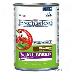 Exclusion Adult - Chicken 6x400g