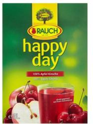 Rauch Happy Day 100%-os szűretlen alma-meggy gyümölcslé 3L