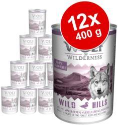 Wolf of Wilderness Wild Hills 12x400g
