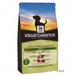 Hill's Ideal Balance Adult - Chicken & Rice 2x12kg