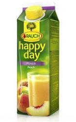 Rauch Happy Day őszibarack nektár C-vitaminnal 1L