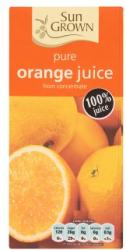 Sun Grown 100%-os narancslé 1L