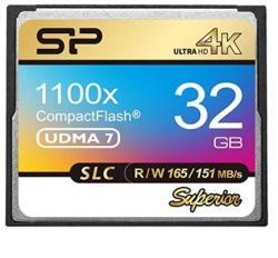 Silicon Power CompactFlash 32GB 1100x SP032GBCFC1K1V10