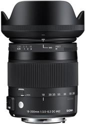 SIGMA 18-200mm F/3.5-6.3 DC OS HSM Macro Contemporary (Nikon)