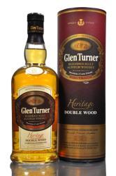 Glen Turner Heritage Double Wood Whiskey 0,7L 40%