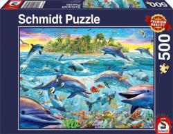 Schmidt Spiele Delfinek zátonya 500 db-os (58227)