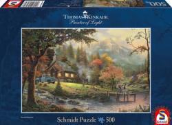 Schmidt Spiele Thomas Kinkade: Békés pillanat 500 db-os (58465)