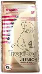 TropiDog Junior Medium & Large - Turkey, Salmon & Eggs 15kg