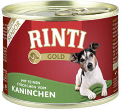 RINTI Gold Senior - Rabbit & Rice 12x185g