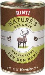 RINTI Nature's Balance - Reindeer & Pasta 400g
