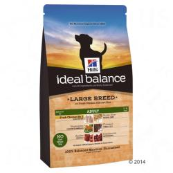 Hill's Ideal Balance Adult Large Breed - Chicken & Rice 12kg