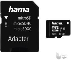 Hama MicroSDHC 16GB Class 10 124138