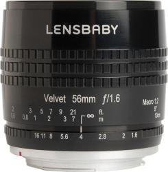 Lensbaby Velvet 56mm f/1.6 (Sony) (LB-V56BS)