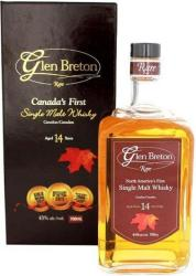 Glen Breton 14 Years Rare Whiskey 0,7L 43%