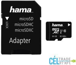 Hama MicroSDXC 64GB Class 10 124140