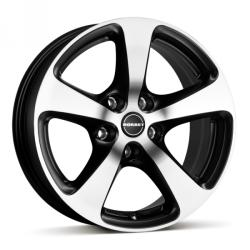 Borbet CC black polished matt 5/105 17x8 ET38