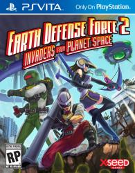 PQube Earth Defense Force 2 Invaders from Planet Space (PS Vita)