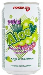 POKKA Aloe vera ital szőlővel 0,3L