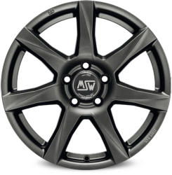 MSW 77 Matt Dark Grey CB72.56 5/120 17x7.5 ET43