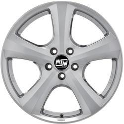 MSW 19 W Full Silver CB57.06 5/112 16x7 ET35