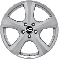 MSW 19 Full Silver CB66.56 5/112 17x8 ET26