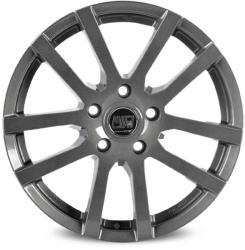 MSW 22 Grey Silver CB57.06 5/112 15x6 ET45