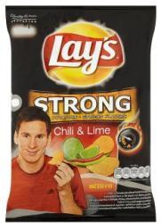 Lay's Stong chili és lime ízű chips 77g