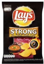 Lay's Strong fűszeres curry ízű chips 77g