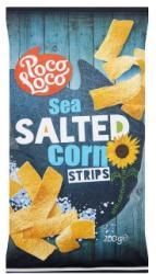 Poco Loco Strips sós kukorica snack 200g