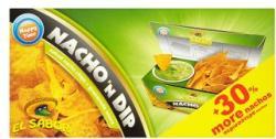 El Sabor Nacho'n Dip nacho chips avokádós mártogatóval 175g