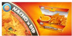 El Sabor Nacho'n Dip nacho chips sajtszósszal 175g